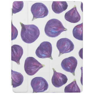 Watercolor figs pattern iPad cover