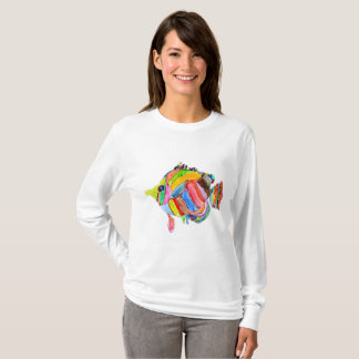 Watercolor Fish T-Shirt