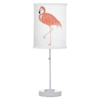 Watercolor Flamingo Lamp