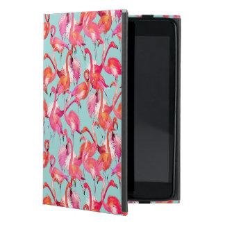 Watercolor Flamingos Gathered Cases For iPad Mini