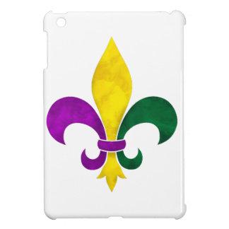 watercolor fleur de lis iPad mini case