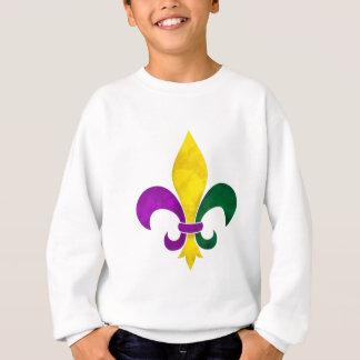 watercolor fleur de lis sweatshirt