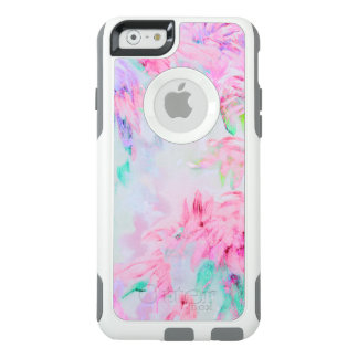 Watercolor floral aster painting pattern OtterBox iPhone 6/6s case