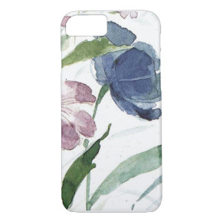 watercolor floral iPhone 8/7 case