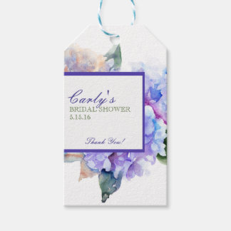 Watercolor Floral Lavender Gift Tags Pack Of Gift Tags