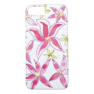 watercolor floral motif iPhone 8/7 case