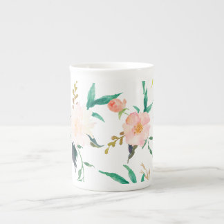 Watercolor Floral Mug