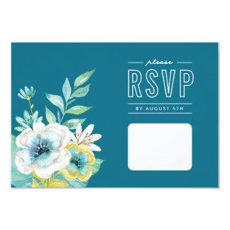 Watercolor Floral RSVP Card