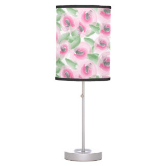 Watercolor Floral Table Lamp