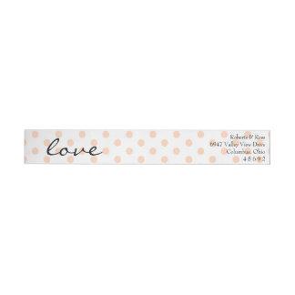 Watercolor Floral Wedding Return Address Label