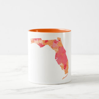 Watercolor Florida Mug