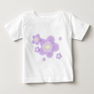 Watercolor Flower Baby T-Shirt
