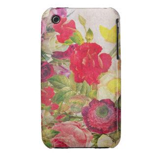 Watercolor Flower Garden iPhone 3 Case-Mate Case