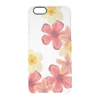 Watercolor flower iPhone 6/6s Clearly™ Deflector C Clear iPhone 6/6S Case