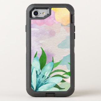 Watercolor Flower Otterbox iPhone OtterBox Defender iPhone 7 Case