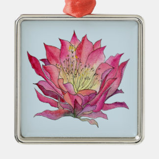 Watercolor Flower Pewter Ornament