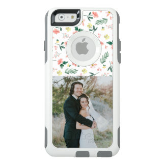 Watercolor Flowers + Photo OtterBox iPhone 6/6s Case