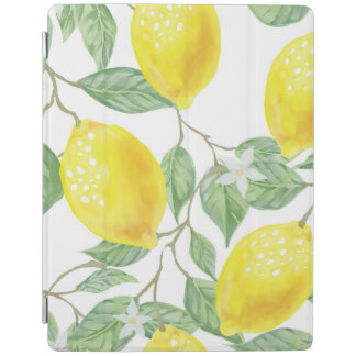 Watercolor Fruit Background iPad Cover