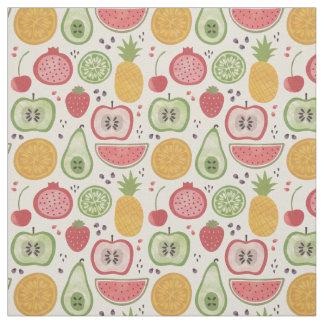 Watercolor Fruits Fabric