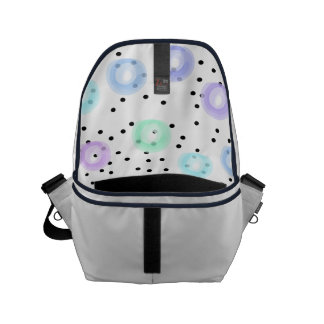 Watercolor Funfetti - Winter Frost Messenger Bag