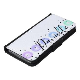 Watercolor Funfetti - Winter Frost Samsung Galaxy S6 Wallet Case