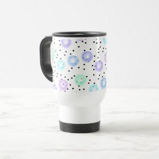 Watercolor Funfetti - Winter Frost Travel Mug