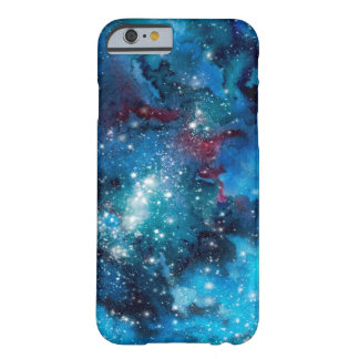 Watercolor galaxy barely there iPhone 6 case