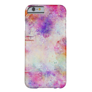 Watercolor Galaxy Purple Pattern iPhone Case
