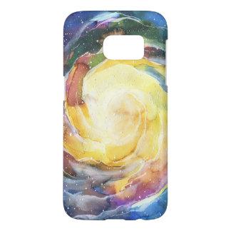 Watercolor Galaxy Space Samsung Galaxy S7 Case