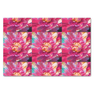 Watercolor Garden Flower Tissue Paper