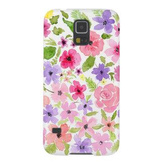 Watercolor garden phone case Samsung 5