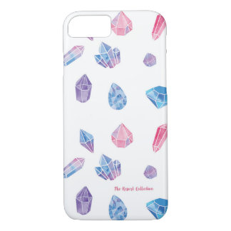 Watercolor Gems Bohemian iPhone 7 Barely There iPhone 7 Case