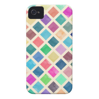 Watercolor geometric pattern Case-Mate iPhone 4 cases