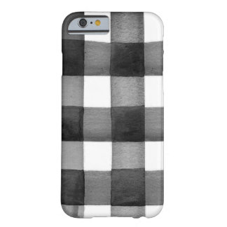 Watercolor Gingham iPhone Case