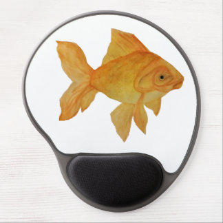 Watercolor Goldfish Gel Mouse Pad