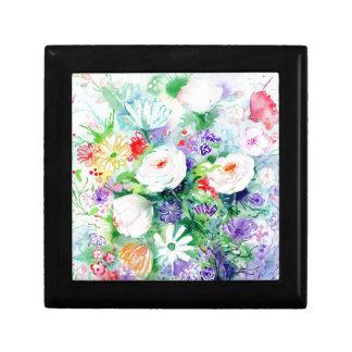Watercolor Good Mood Flowers Gift Box