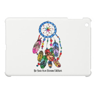 Watercolor gorgeous rainbow dream catcher case for the iPad mini