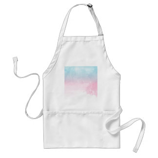 watercolor gradient ombre standard apron