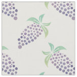 Watercolor Grapes Fabric