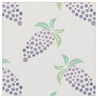 Watercolor Grapes Fabric