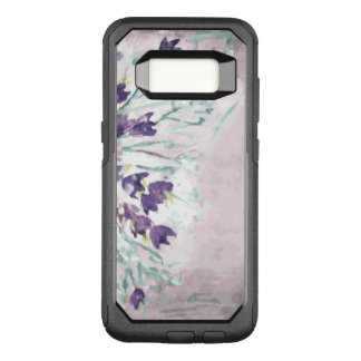 Watercolor grunge background with bells OtterBox commuter samsung galaxy s8 case