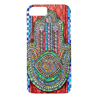 Watercolor Hamsa Tiles iPhone 8/7 Case
