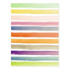 Watercolor hand painted brush strokes, banners. postcard