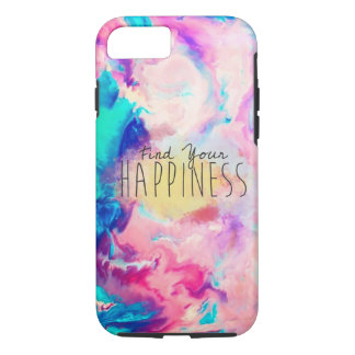 Watercolor happiness iPhone case