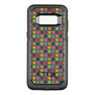 Watercolor Heart Pattern OtterBox Commuter Samsung Galaxy S8 Case