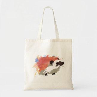 Watercolor Hedgehog Tote Bag