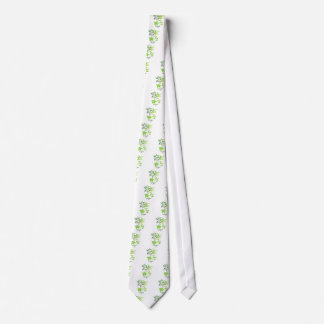 Watercolor herb sage illustration tie
