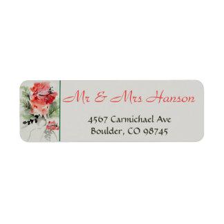 Watercolor Hibiscus Wedding