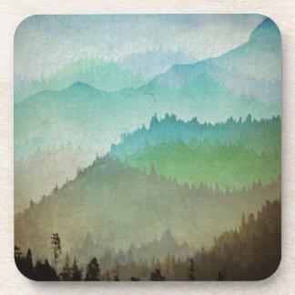 Watercolor Hills Beverage Coaster