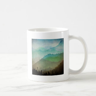 Watercolor Hills Coffee Mug